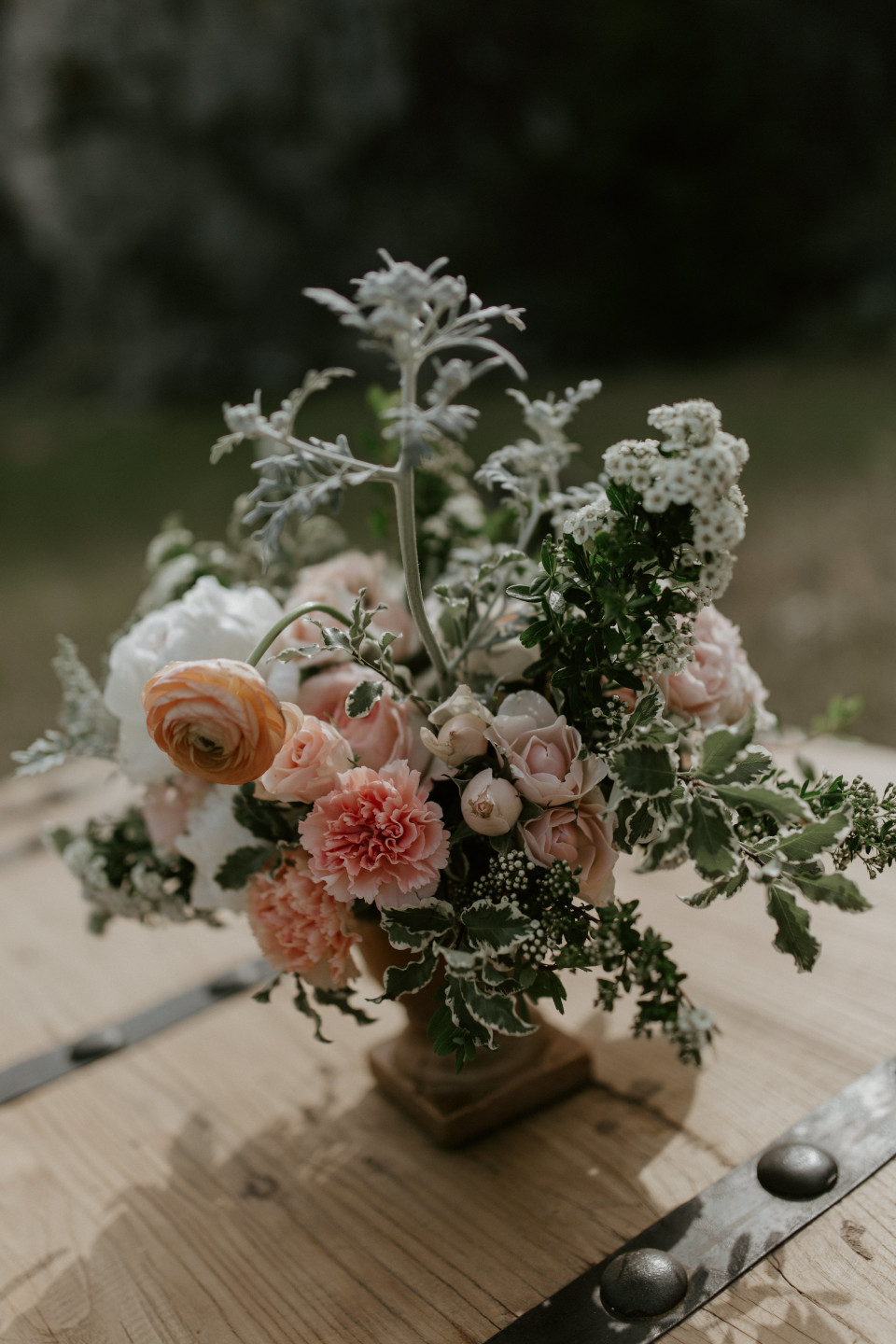 Harper's boquet at the Columbia River Gorge in Oregon. Elopement photography in Portland Oregon by Sienna Plus Josh.